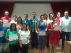 """Entrega de diplomas en Tarazona """"Promoción de las políticas de igualda y promoción de empleo 2014"""""""