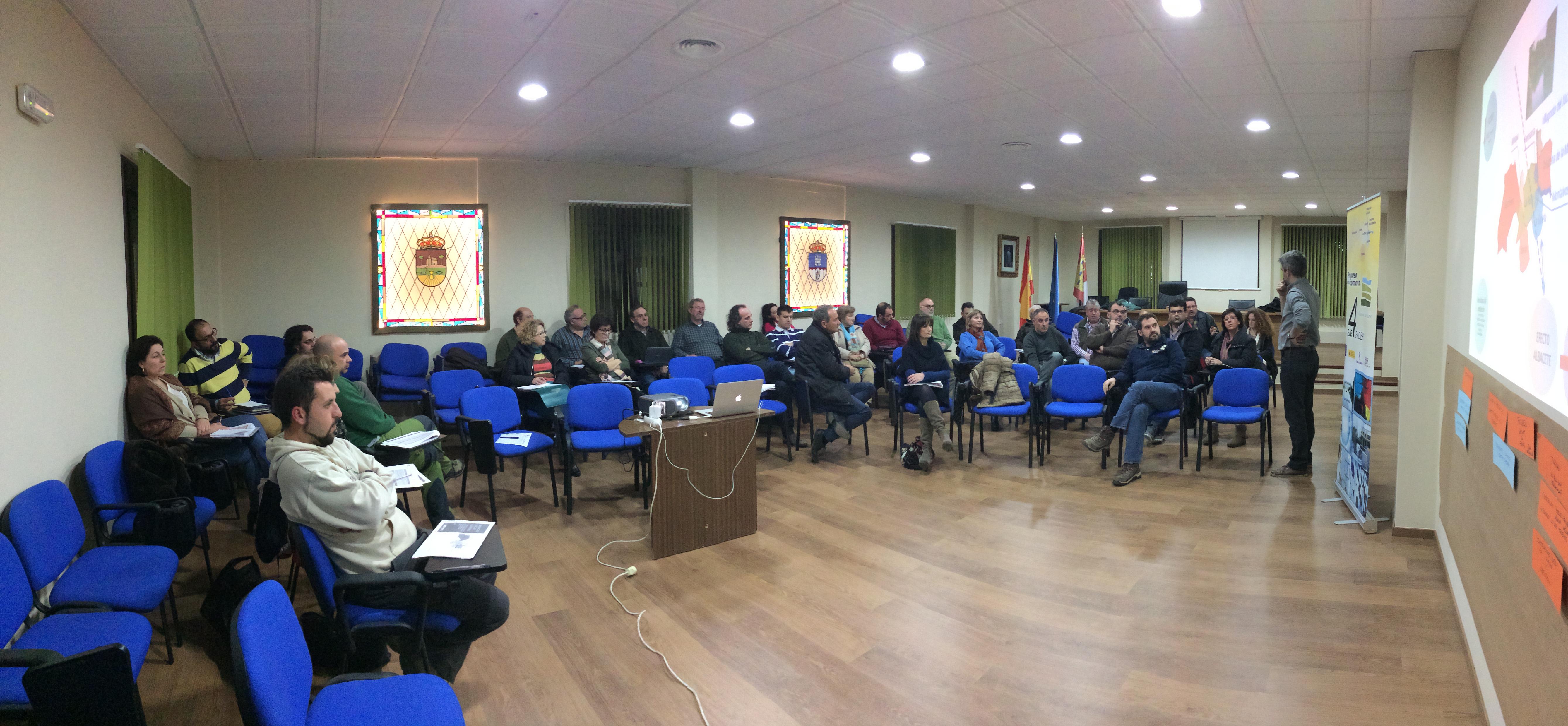Un momento del taller de elaboración de estrategia del 01-03-2016